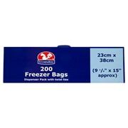 Kitchen King Freezer Bags 200s (0469)