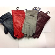 Ladies Coloured Leather Gloves (GL147A)