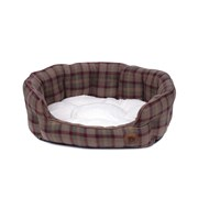 Petface Country Checkoval Bed Large (15074)