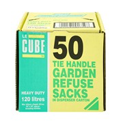 Le Cube Garden Refuse Sacks 50s (0369)