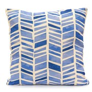 Chevrons Scatter Cushion  Blue (LGSC1902)