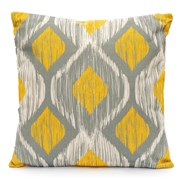 Diamonds Mirage Scatter Cushion - Lemon Yellow (LGSC1909)