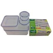 Lock & Lock 5pc Multi Functional Boxes (HPL82605)