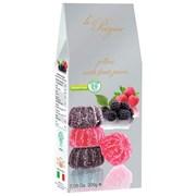 Le Preziose Italian Blackberry & Raspberry Fruit Jellies 200g (LP11)