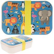 Bamboo Eco Lunch Box Zoo (LP44589)