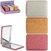 Glitter Compact Mirrors Asstd (LP45038)
