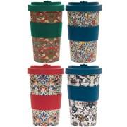 Bamboo Travel Mugs Wm 4 Asstd 600ml (LP87005)