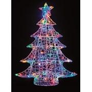 Lit Soft Acrylic Christmas Tree Multi 1m (LV191185M)