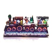 Xmas Train With Rotating Led 40cm (MB093590)