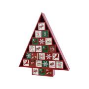 Mdf Advent Calendar Tree 38cm (550675)
