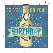 Birthday Beer Card (MEE30008)