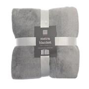 Meira Blanket Grey/silver 170cm (BLS172571)