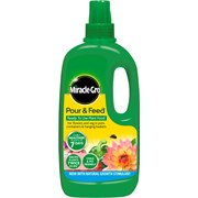 Miracle-gro Pour & Feed Liquid 1lt (018113)