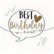 Best Birthday Ever Card (MKE30007)