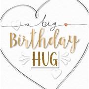 Big Birthday Hug Card (MKE30011)