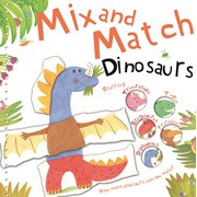 Mix N Match Book Dinosaur (MNM05)