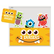 Monsters Novelty Erasers (MOSH)
