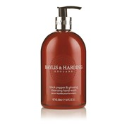Baylis & Harding Black Pepper & Gingseng Hand Wash (BMHWBP)