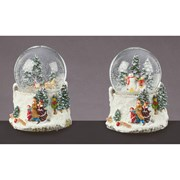 Musical Forest Scene Waterglobe 100mm (MO161277)