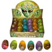 Henbrandt Mini Alien Egg Assorted 4cm (N14018)