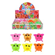 Henbrandt Sticky Pig Splat Ball Assorted Colours (N51271)
