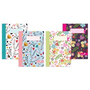 Exercise Notebook-marlene West- 4 Assorted Designs A5 (NBA5MW)