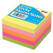 """Neon Colours Sticky Memo Notes 3x3"""" (301306)"""