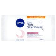 Nivea Visage Wipes Dry/sens 40s (BD131306)
