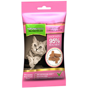 natures:menu Real Meat Chicken & Liver Mini Treats For Cats 60g (NMCLT)