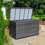 Nova Rattan Storage Box Grey