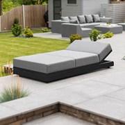 Nova Sense Outdoor Fabric Sun Lounger