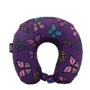 Neck Pillow Purple Butterfly (NPMF008)