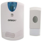 Omega Plug In Wireless Door Chime with Light (17526)