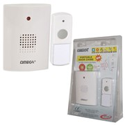 Omega Portable Wireless Door Chime (17101)