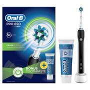 Oral B Oral-b Pro 650 3d Black Electric Toothbrush (ORAPRO650BLACK)