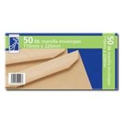 O/style Envelope Manilla Dl 50s (STA007)