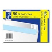 O/style Envelope White P/s 114x162m 50s (STA008)