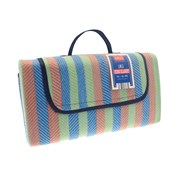 Picnic Blanket Red Stripe 130 X 150mm (OUT164361)