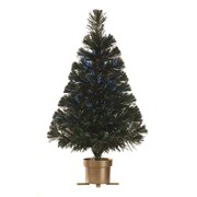Festive Usb Green Fibre Optic Tree 60cm (P007761)