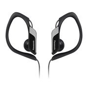 Panasonic Clip Ear Black Headphones (RPHS34E-K)