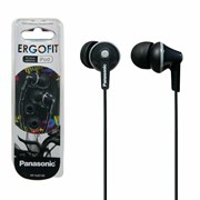 Panasonic Ergo Fit Earphones Black (PA-RP-HJE125E-K)
