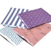 "Patterned Paper Bags Unstrung 1000s 7x9"" (79R)"