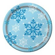 Dinner Plates Snowflake Swirls 8s (PC317150)