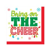 Beverage Napkins Bring Cheer 16s (PC317186)