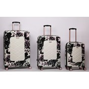 "Black Rose Trolley Case 21"" (PCF815 BLK ROSE)"