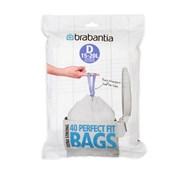 Brabantia 15-20lt Perfectfit Bags D 40s (362187)