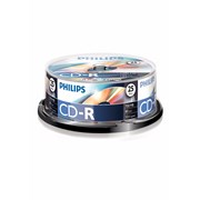 Philips 25 Disc Recordable Cd Cd-r80 Spindle (PHICDR8025CB)