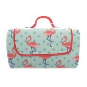 Picnic Blanket Family Size Flamingo 150 x 200cm (OUT175350)