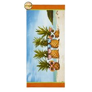 Catherine Lansfield Pineapple Beach Towel