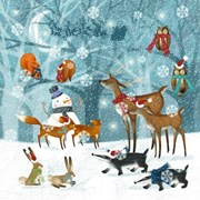 Lunch Napkin Winter Forest 20s (PJ310515)
